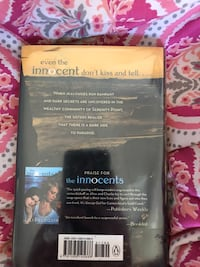 Praise for the Innocents by Lili Peloquin book