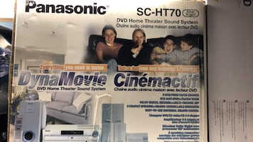 Panasonic home theater sound system *new*