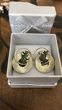 Vintage 'Coro' signed clip on earrings. New Westminster, V3L 1E3