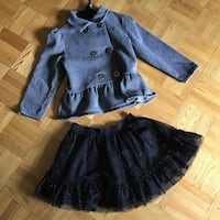 Calvin Klein 2 pc outfit size 4T great starting school outfit Toronto, M1E 4S4