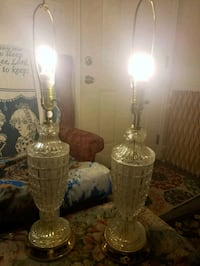 Glass table lamps Norfolk