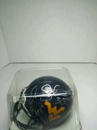 W V blue and Yellow football mini helmet Annandale, 22003