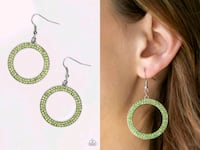 Bubbly babe green earring  Gaithersburg, 20878