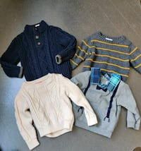 Baby boy clothes 12 to 18months  Caledon, L7C 2H1