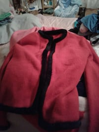 pink and black cardigan Wichita Falls, 76302