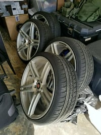 5x112 20 inches Axe concave wheels and tires 42 km