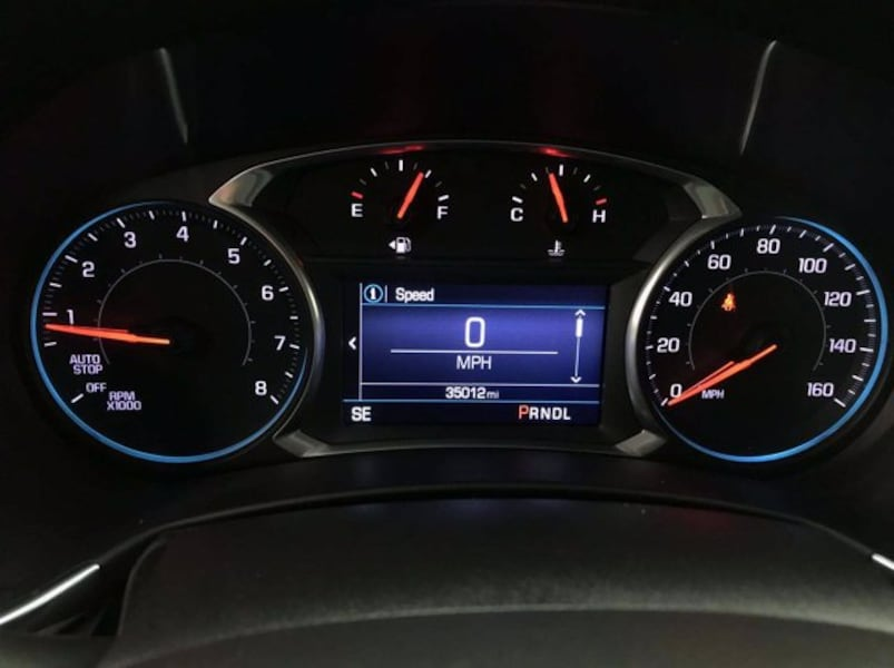2019 Chevy Chevrolet Equinox Pacific Blue Metallic hatchback 15
