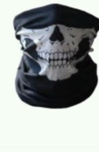 Skull face mask pull down Cape Coral, 33904