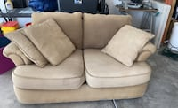 Old couch love seat