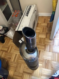 black and gray upright vacuum cleaner Mississauga, L5A 4C7