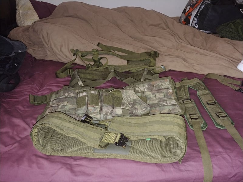 condor chest rig battle belt y and h harness  1