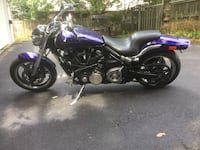 black and purple cruiser motorcycle Gaithersburg, 20877