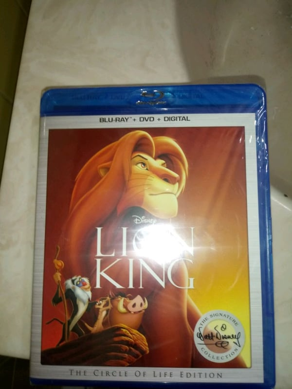 THE LION KING BLU-RAY + DIGITAL CODE. e350d6b3-d01f-4df5-ad79-dd66c561b305