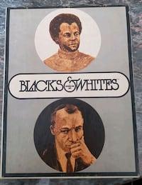 Blacks & Whites Role Identity Vintage Board Game (1970) Excellent Cond