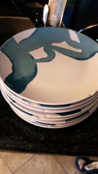 8 Plates with small chips on the side Calgary, T2Y 4S6