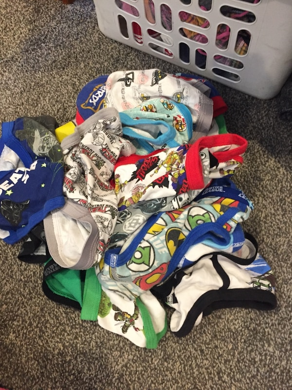 447c581dcb92 Used 17 pairs of Size 6 boys underwear for sale in San Jose - letgo