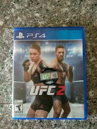UFC 2 PS4 game case Palmdale, 93550
