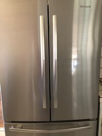 Stainless steel french door refrigerator Fresno, 93710