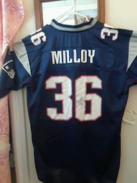 Jersey lawyer Milloy signed jersey