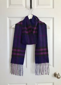 Authentic Burberry cashmere scarf Mississauga, L5M 0H2