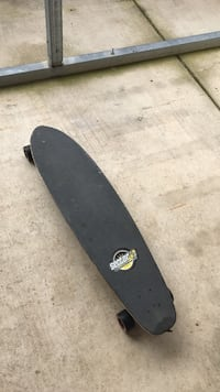 Black sector skateboard  hardly used old memories to be sold