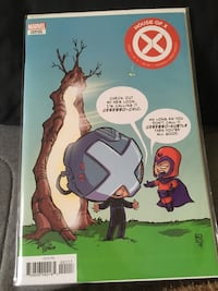 House of X #1 Variant Cover comic book