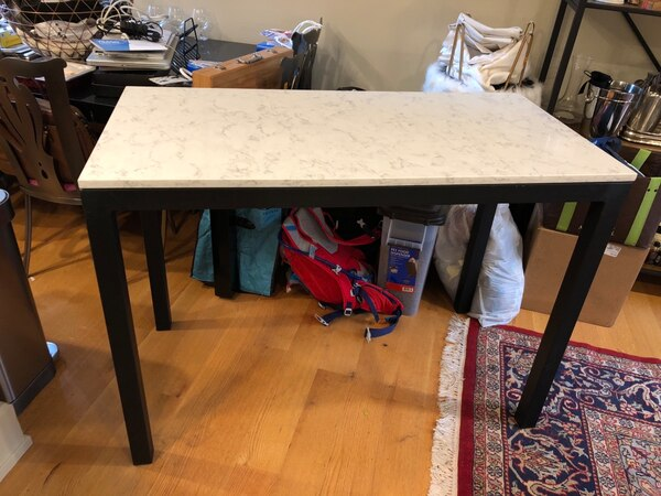 Room and Board Parsons Counter Quartz Table