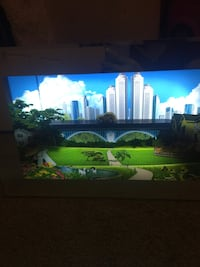 Kids room picture frame 3D moving cars and lights Brampton, L6R 3P7
