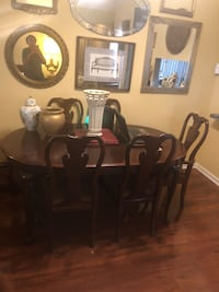 Used Beautiful Mahogany Thomasville Formal Dining Room 6 ...