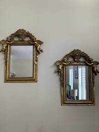 Angel Vintage Golden Color Mirrors Vienna, 22182