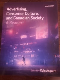 Advertising, consumer culture and canadian society text book