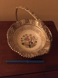 Silver trim candy dish? Mounds View, 55112