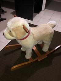 Dog Rocking Chair For Kids!!
