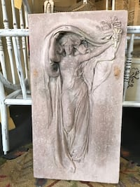 Goddess Plaque-for inside or outside. Add an elegant feature to your garden or room Wake Forest, 27587
