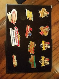 11 super bowl pins full collection  1236 mi