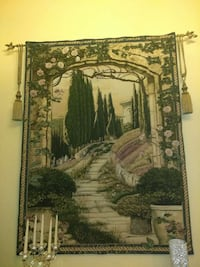 green and brown tree and house print wall decor Miami Lakes, 33016