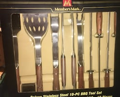 BBQ Utensil Set (New)