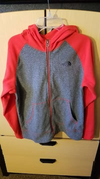 North Face Fleece Hooded Sweatshirt Size L  Burbank, 60459