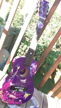 purple and black acoustic guitar Cottage Grove, 55016