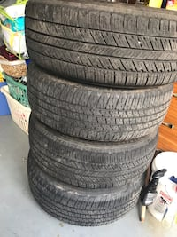 Selling used wheels and  tires 275/65R18 5lug. Tires have about 500 miles on them.  Excellent condition  . Please only if   you are seriously interested contact me. Have a blessed day . $375