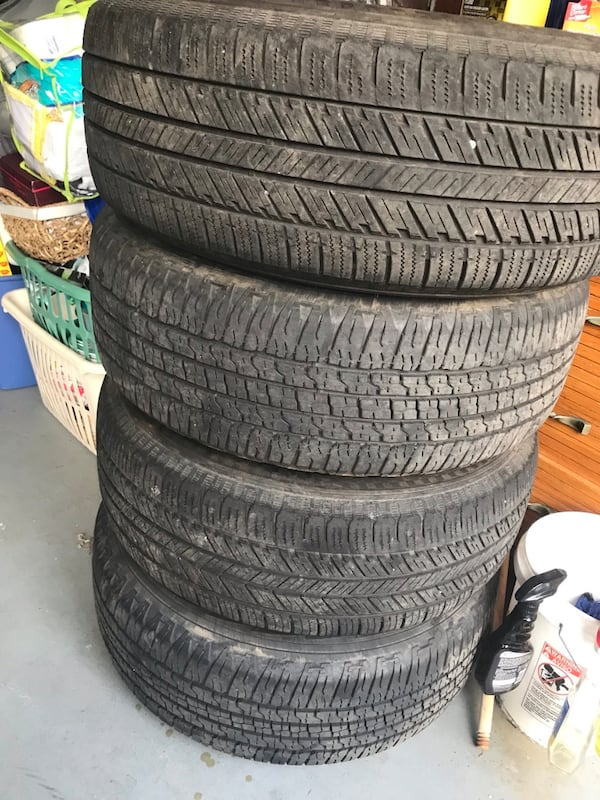 Selling used wheels and  tires 275/65R18 5lug. Tires have about 500 miles on them.  Excellent condition  . Please only if   you are seriously interested contact me. Have a blessed day . $375 41bfa6a0-88aa-4317-aa27-c08d5360c09d