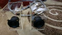 PC/ LAPTOP CRYSTAL 100% SPEAKER SYSTEM HAND MADE 40W NEW
