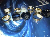 Gucci, Versace and LV rings and bracelets South Salt Lake, 84106