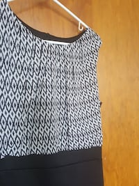 black and white sleeveless tops New Cumberland, 17070