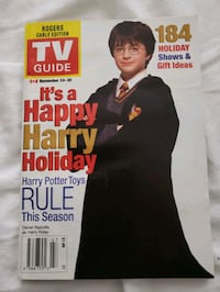 Harris Potter TV Guide cover Mississauga, L4W 2E9