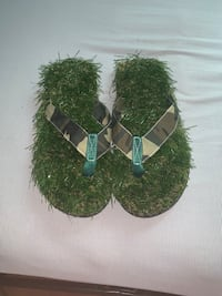 Grass slippers Burke, 22015