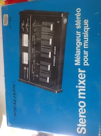 "Stereo Mixer "" new"" North Vancouver, V7G 2S4"