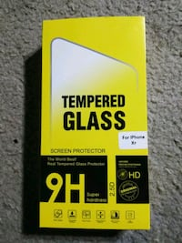iPhoje XR Tempered Glass Screen Protector Silver Spring, 20906