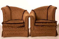 Gorgeous vintage 1960s slope back chairs Ann Arbor, 48103