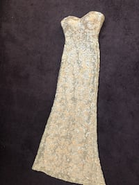 Size 0 prom / gown sparkle dress